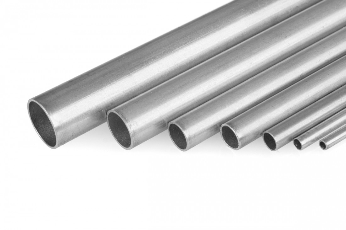 Produkt anzeigen - Aluminium tube diameter of 5.4/4.65x1000 mm