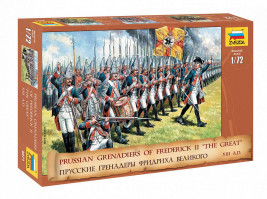 1:72 Prussian Grenadiers of Frederick II the Great (XIII A.D.)