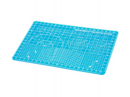 A5 Size Cutting Mat (Clear Blue)