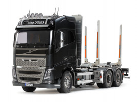 1:14 Volvo FH16 Globetrotter 750 6×4 Timber Truck (Assembly Kit)